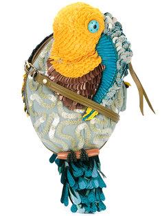 сумка через плечо  в виде попугая Jamin Puech