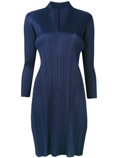 укороченное плиссированное платье  Pleats Please By Issey Miyake