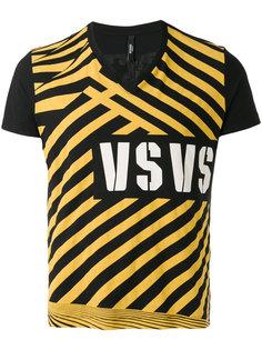 футболка с V-образным вырезом Versus