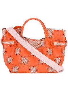 сумка-тоут с отделкой  Jamin Puech