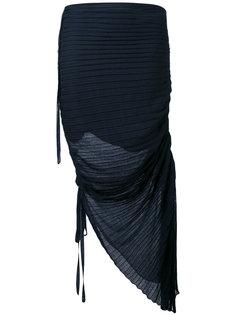 плиссированная драпированная юбка  Marni