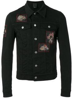 джинсовая куртка с нашивками Dior Homme