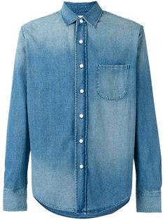 джинсовая рубашка Simon Miller