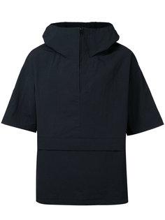 zipped neck hooded jacket En Route