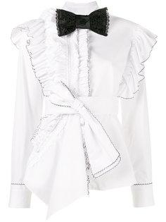 рубашка с рюшами Morgana  Preen By Thornton Bregazzi
