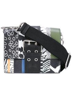сумка на плечо с графическим принтом Versus