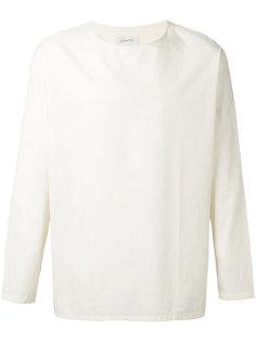рубашка без застежки Lemaire