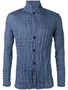 рубашка с эффектом помятости Issey Miyake Men