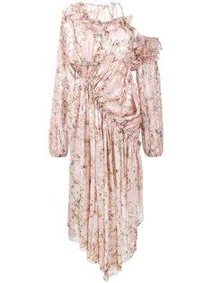 платье с цветочным принтом Eckhart  Preen By Thornton Bregazzi