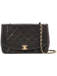 сумка 25см с откидным клапаном Diana Chanel Vintage