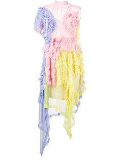 асимметричное платье Viviane Preen By Thornton Bregazzi