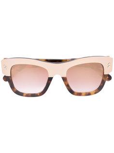 солнцезащитные очки с узором черепашьего панциря  Stella McCartney