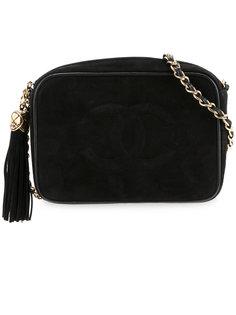 сумка с кисточкой на цепочной ручке Chanel Vintage