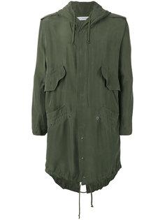 пальто с капюшоном и карманами по бокам Faith Connexion