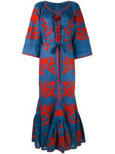 платье с цветочным узором Vita Kin