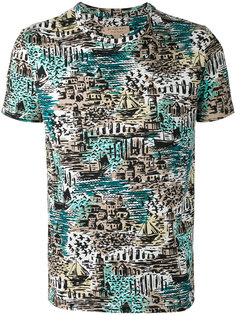 футболка с принтом British seaside  Burberry