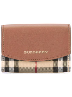 кошелек в клетку Horseferry  Burberry