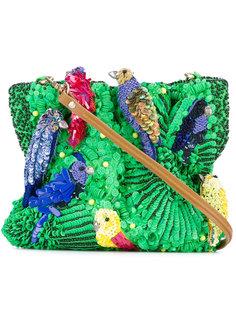 сумка на плечо с пайетками  Jamin Puech