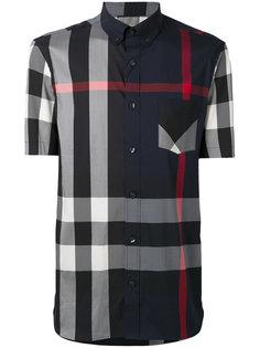 рубашка с короткими рукавами в клетку Burberry