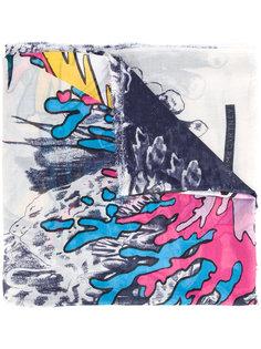 шарф с рисунком Stella McCartney