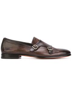 классические туфли-монки Santoni