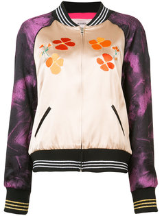 contrast panel bomber jacket  Rodarte