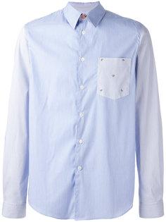 полосатая рубашка с арбузами на кармане Ps By Paul Smith