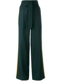 широкие брюки с контрастными полосками Paul Smith