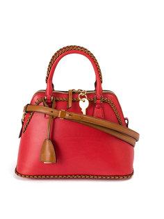 сумка на плечо с плетеной окантовкой Maison Margiela