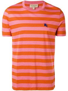 полосатая футболка с короткими рукавами Burberry