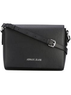 сумка на плечо с откидным верхом Armani Jeans