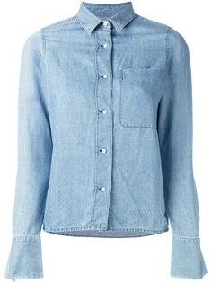джинсовая рубашка  J Brand