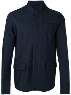 пиджак с воротником-стойкой Emporio Armani