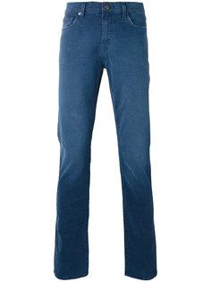 джинсы кроя слим Tyler J Brand