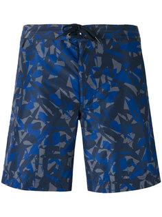 камуфляжные шорты для плавания Z Zegna