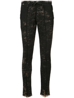 distressed skinny track pants Cotton Citizen