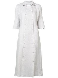 shortsleeved buttoned dress  Cherevichkiotvichki