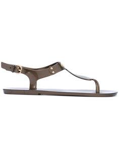 сандалии с металлической вставкой Michael Michael Kors