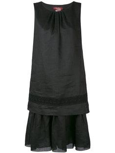 платье со складками на подоле  Max Mara Studio