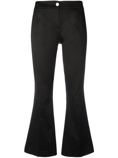 flared cropped trousers Ultràchic