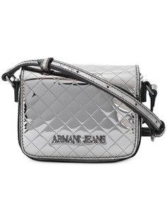 стеганая сумка через плечо с логотипом Armani Jeans