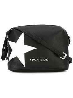 сумка через плечо с принтом звезды Armani Jeans