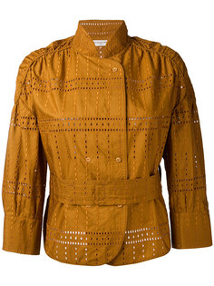 куртка с вышивкой Veronique Leroy