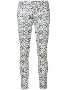 укороченные джинсы скинни с принтом 7 For All Mankind