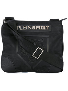 сумка-сэтчел с принтом тигра Plein Sport