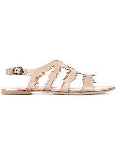 laser cut details sandals Sartore