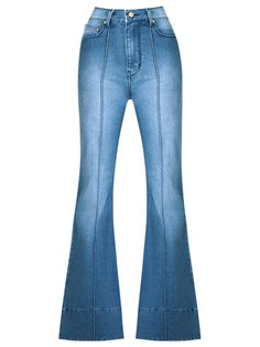 high waist flared jeans Amapô