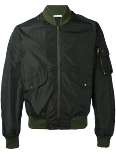 куртка-бомбер  с накладными карманами Tomas Maier