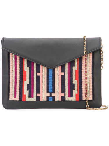 embroidered envelope clutch Lizzie Fortunato Jewels