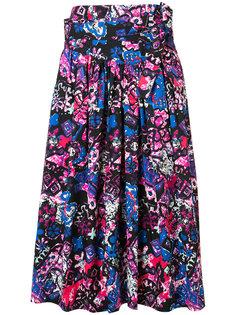 юбка с абстрактным принтом Marc Jacobs
